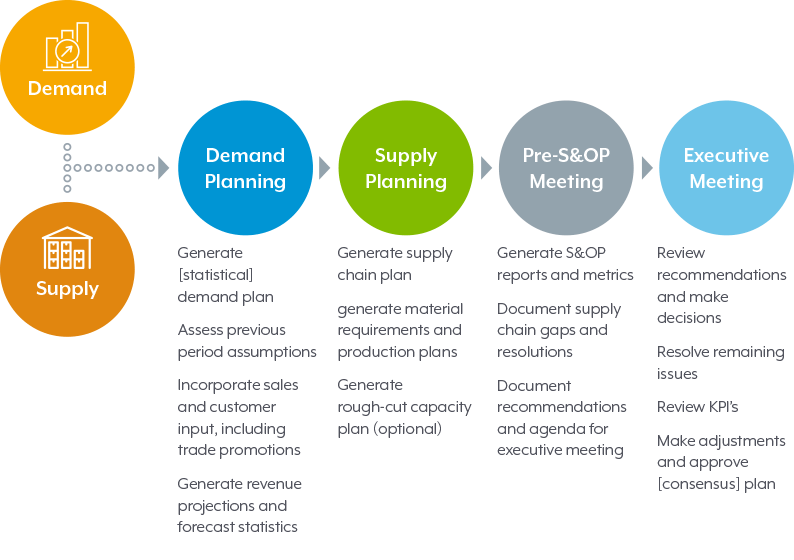 Implementing a Sales and Operations Planning (S&OP) Process