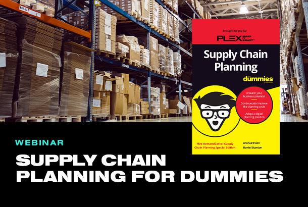 Supply Chain Planning for Dummies: Meet the Author Webinar
